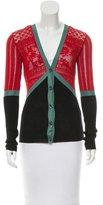 Jean Paul Gaultier Open Knit Long Sleeve Top