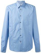 Marni asymmetric pocket shirt - men - Cotton - 52