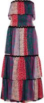 Sonia Rykiel Tiered Printed Cotton Midi Dress - FR38