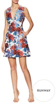 Mary Katrantzou Eridanus Floral Jacquard Fit And Flare Dress