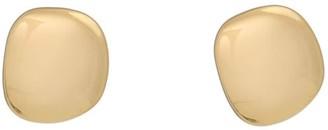 Katie Belle Lena 18ct Gold Vermeil Pebble Stud Earrings