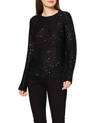 Vero Moda Women's Sweatshirt, Weiter Stehkragen, Raglanärmel Jumper,(Size: Small)
