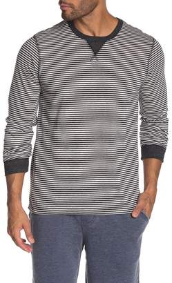 Alternative Long Sleeve Stripe Print T-shirt