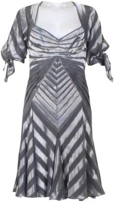 Zac Posen Metallic Silk Dresses