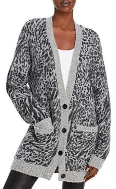 Rails Olso Leopard Print Cardigan