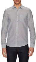 Gilded Age Cotton Oxford Stripe Sportshirt