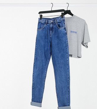 Reclaimed Vintage inspired the '83 unisex relaxed fit jean in washed blue