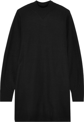 Rag & Bone Utility Cotton-terry Turtleneck Mini Dress