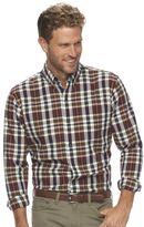 Arrow Men's Classic-Fit Madras-Plaid Button-Down Shirt