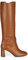 Tod's Gomma leather knee-high boots
