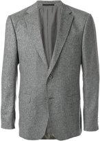 Z Zegna tweed two button blazer - men - Polyamide/Cupro/Wool - 50