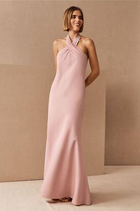 BHLDN Ruby Satin Charmeuse Dress