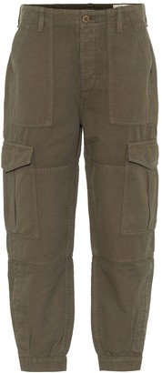 Citizens of Humanity Greta cotton and linen cargo pants