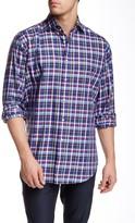 Thomas Dean Woven Long Sleeve Regular Fit Shirt