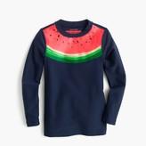 J.Crew Girls' rash guard in watermelon