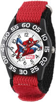 Marvel Spiderman Boys Red Strap Watch