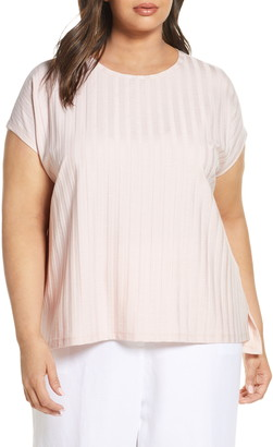Eileen Fisher Rib Knit Top