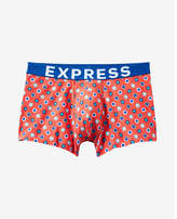 Express dot print sport trunks