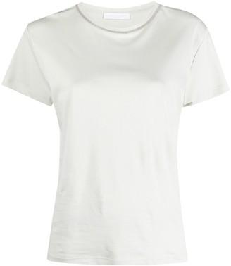 Fabiana Filippi chain-embellished cotton T-shirt