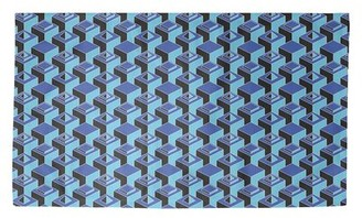 Brayden Studio Skyscrapers Blue Area Rug Rug Size Rectangle 2 X 3 Shopstyle