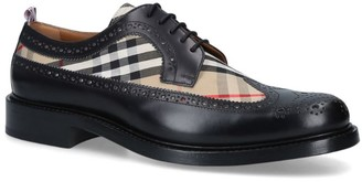 Burberry Check Arndale Brogues