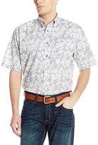 Ariat Men's Men's Short Sleeve Performance Poplin Shirt