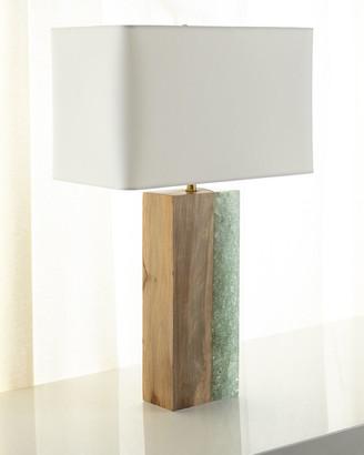 REGINA ANDREW Venus Birch Wood Table Lamp
