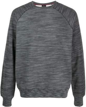 Paul Smith striped pattern sweatshirt