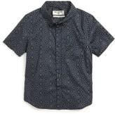 Billabong Toddler Boy's Sundays Mini Woven Shirt