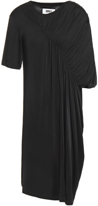 MM6 MAISON MARGIELA Ruched Stretch-jersey Dress