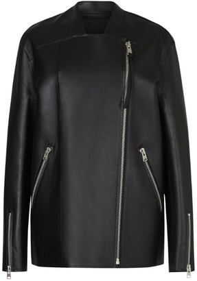 AllSaints Leather Abbey Jacket