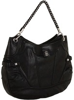 GUESS Sidney Hobo (Black) - Bags and Luggage