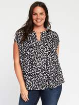 Old Navy Lightweight Plus-Size Cocoon Blouse