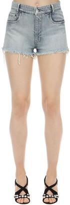 Miu Miu Cotton Denim Shorts