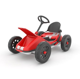 Chillafish Monzi RS Red - Innovative foldable pedal go-kart