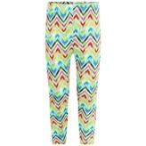 Oilily OililyGirls Green Zigzag Print Leggings