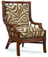 Seville Wingback Chair Braxton Culler Upholstery Color: 0201-64/Bisque