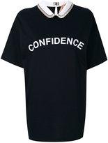 No.21 confidence print T-shirt