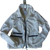 Moncler Ecru Polyester Biker jacket