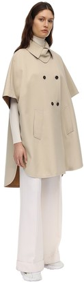 Max Mara Bertone Cotton Trench Cape