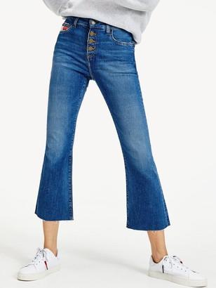 Tommy Jeans Katie Crop Flare Jean