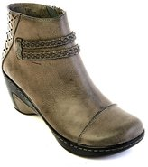 Jambu Women's Cabernet Faux-Leather Round Toe Ankle Boot