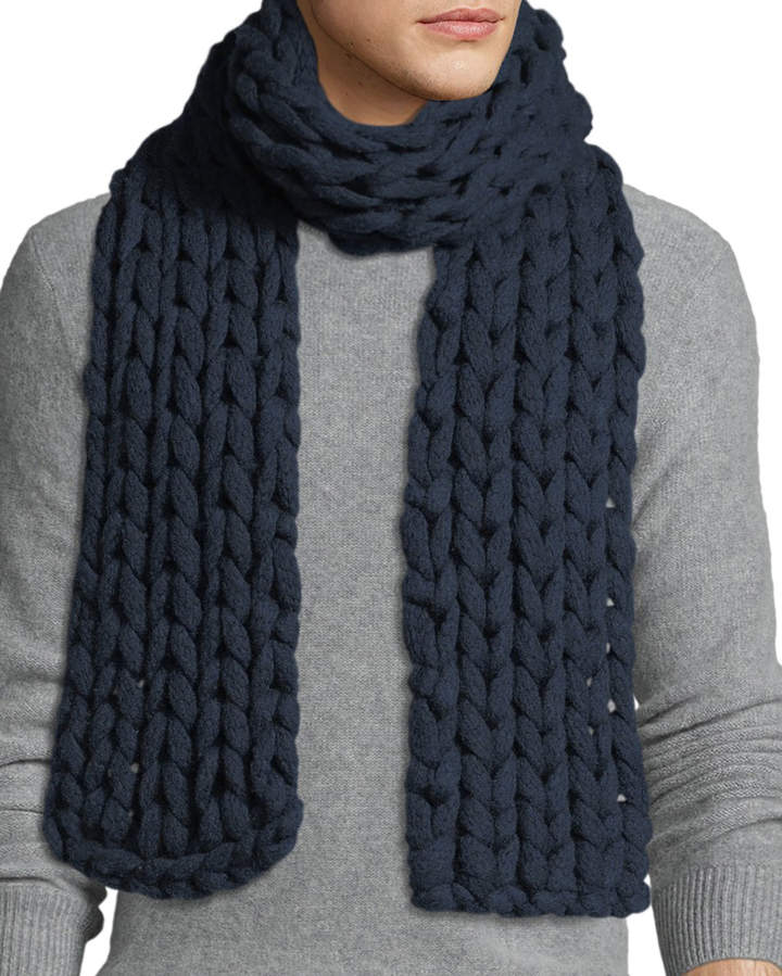 Chunky Mens Scarves Shopstyle