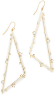 Alexis Bittar Satellite Crystal Angled Earrings