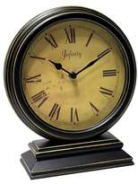 Infinity Instruments The Dais Table Clock Black/Gold