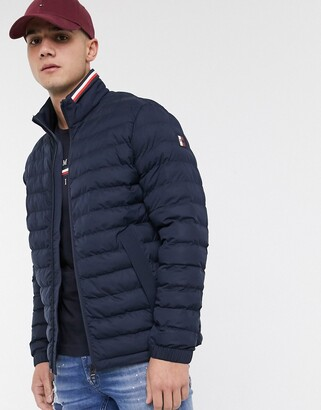 Tommy Hilfiger stretch quilted nylon jacket in navy