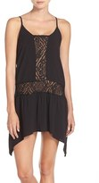Becca Women's 'Amore' Lace Inset Cover-Up Dress