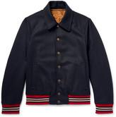 Dries Van Noten - Reversible Wool-blend Bomber Jacket