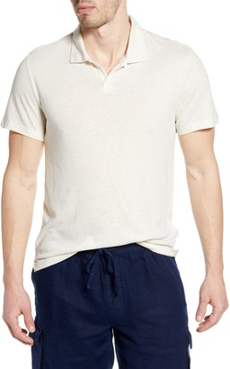 Onia Shaun Short Sleeve Polo