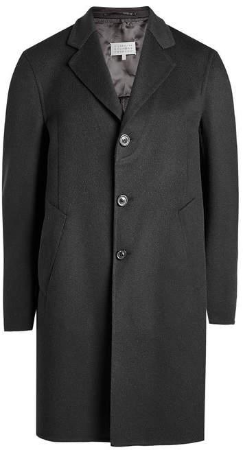 Maison Margiela Coat wth Virgin Wool and Silk